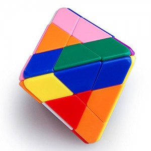 LanLan 4-Layer Octahedral Magic Cube Stickerless