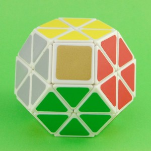 Lanlan Magic Jewel Speed Cube White