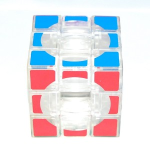 Lanlan 3x3x3 Void Puzzle, Speed Cube Transparent