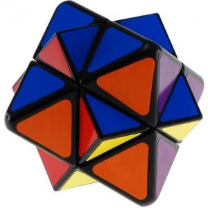 LanLan Starlike Skewb Magic Cube Black