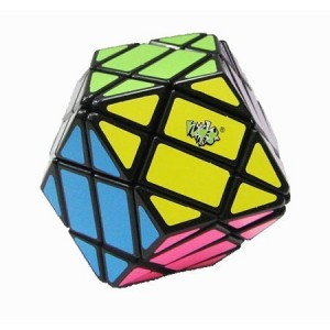 Lanlan Rhombic Dodecahedron Magic Cube Black