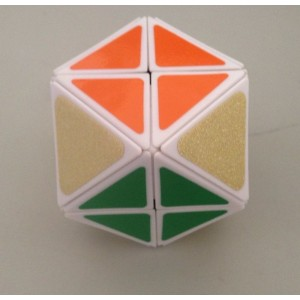 LanLan 12-Axis 14-Faceted Magic Cube White