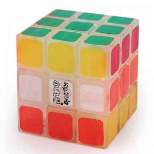 Maru 3x3 Tiny 3cm Speed Cube Glow In The Dark