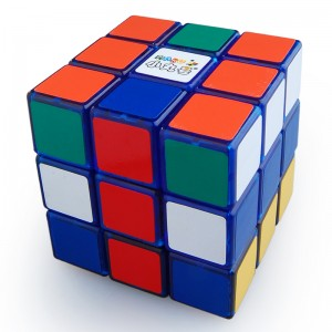 Maru ShenLan 3x3x3 Magic Cube Transparent Blue