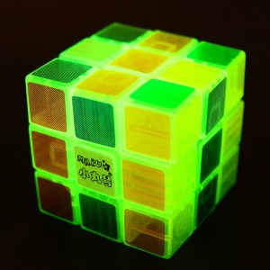 Maru ShenLan 3x3x3 Magic Cube Transparent Luminous