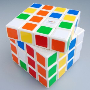 Maru 4x4x4 DB Version 2 Speed Cube Puzzle, White
