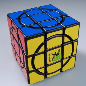 MF8 Dayan Crazy 3x3 Speed Cube Uranus Black