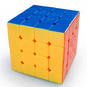 MF8+Dayan 4X4 Speed Magic Cube 6.2cm Stickerless