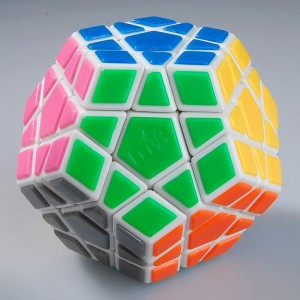 MF8 Tiled Megaminx White