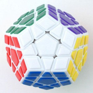 MF8 Tiled Megaminx(V3) White