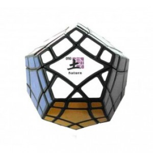 Mf8 Bermuda Megaminx Eight Planets Series Magic Cube Saturn Black