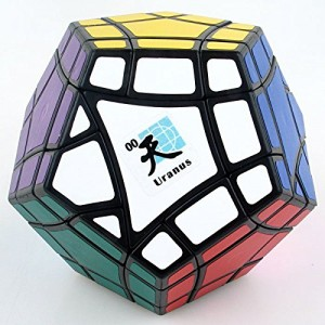 Mf8 Bermuda Megaminx Eight Planets Series Magic Cube Uranus Black