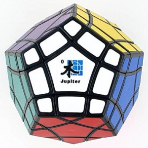Mf8 Bermuda Megaminx Eight Planets Series Magic Cube Jupiter Black