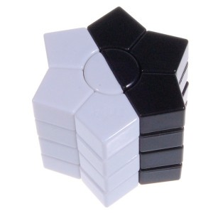 MF8 Star Magic Cube Black and White without Sticker