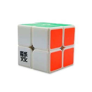 YJ Moyu Lingpo 2x2x2 Speed Cube Puzzle, White