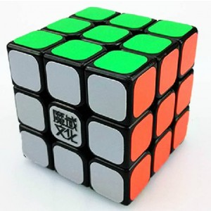 YJ Moyu Aolong 3x3x3 57mm Speed Cube Puzzle, Black