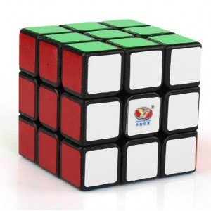 YJ MoYu Chilong 3x3x3 Speed Cube Black