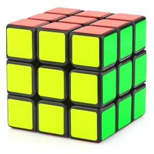 YJ Moyu Sulong 3x3x3 57mm Speed Cube Black
