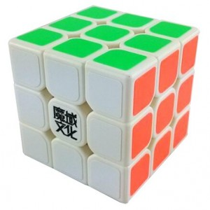 YJ MoYu AoLong V2 3x3x3 Speed Cube Enhanced Edition White Puzzle,