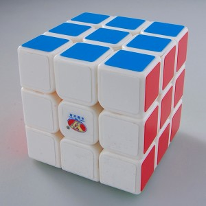 YJ MoYu Chilong 3x3x3 Speed Cube White