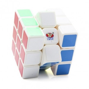 YJ Moyu Sulong 3x3x3 57mm Speed Cube White