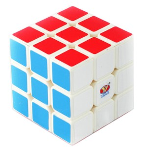 YJ Moyu Yulong 3x3x3 57mm Magic Cube White