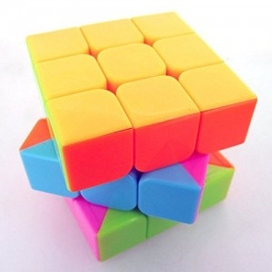 Yongjun YJ Yulong 3x3x3 Stickerless Magic Cube Candy Color