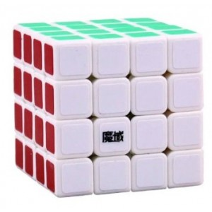 YJ Moyu Shensu 4x4x4 Speed Cube White