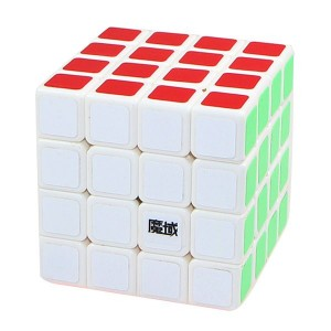 YJ Moyu Weilong 4x4x4 62mm Speed Cube White