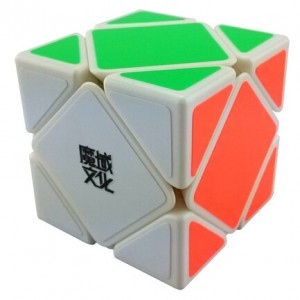 YJ MoYu Skewb Magic Cube White