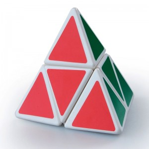 Mozhi 2-Layer Pyraminx Magic Cube White