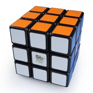 QJ 3x3 Speed Cube Black 5.7cm