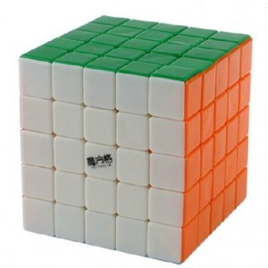 Qiyi MoFangGe (MFG) 5X5X5 Speed Cube Puzzle, Standard Stickerless