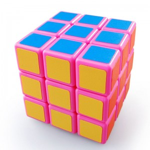 Type F ShengEn 3x3x3 Cube Puzzle Pink