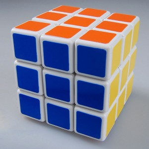 ShengShou 3x3 Speed Cube White