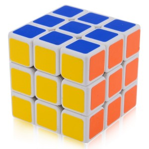 Shengshou Linglong Mini 3x3x3 46mm Speed Cube White