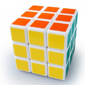 Shengshou 3x3x3 Wind Series Speed Cube Puzzle, White