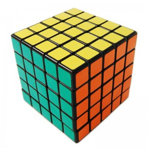 ShengShou 5x5 Magic Cube Black