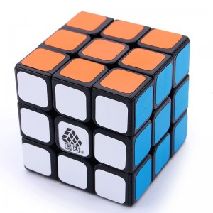 Type C V 3x3x3  Magic Cube Black