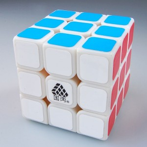 Type C-IV Witlong 3x3 Magic Cube White