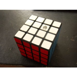 Type C, WitFour 4x4x4 62mm Magic Cube Black
