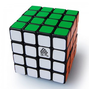 Type C Mini 4x4x4 444  Magic Cube Black (46MM)