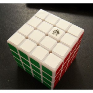Type C, WitFour 4x4x4 62mm Magic Cube White