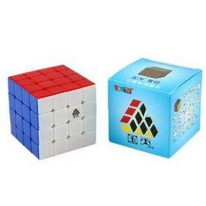 Type C, WitFour 4x4x4 62mm Magic Cube Stickerless