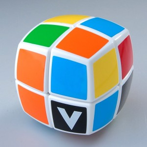 V-CUBE 2 Round-Shaped Cube White