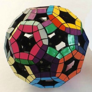VeryPuzzle Void Tuttminx Magic Cube Black