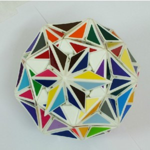VeryPuzzle Super Star Magic Cube White