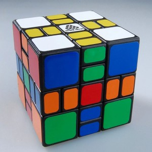 WitEden 3x3x3 Mixup Plus Magic Cube Black