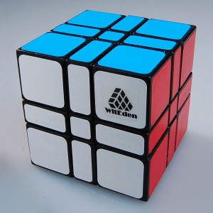 WitEden 3x3x3 333 Camouflage Speed Cube Magic Cube Black