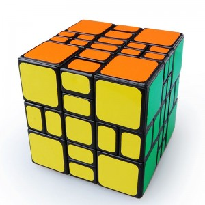 WitEden 3x3x4 Mixup Plus Magic Cube Black